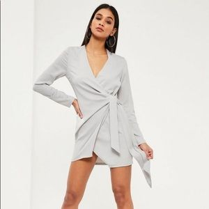 Misguided Wrap Dress NWT